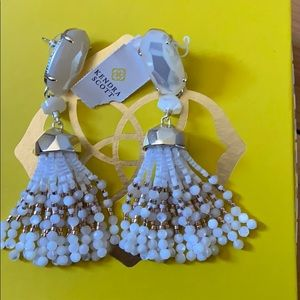Authentic KS Dove tassels earrings